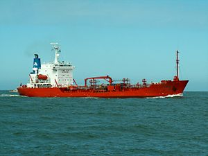 Jo Hegg p2 approaching Port of Rotterdam, Holland 08-Apr-2006.jpg