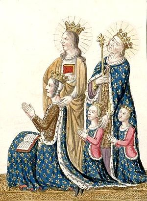 Joan of Armagnac - Joanna, John and their children