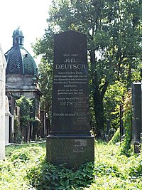 Joel Deutsch grave, Vienna, 2017.jpg