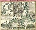 Joh. Bapt. Homann - Geographische Vorstellung der jämerlichen Wasser-Flutt in Nieder-Teutschland.jpg