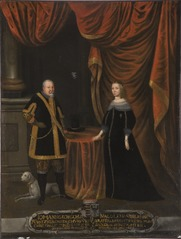 Johan Georg I, 1585-1656, kurfurste av Sachsen, Magdalena Sibylla, 1652-1712, prinsessa av