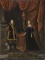 Johan Georg I, 1585-1656, kurfurste av Sachsen, Magdalena Sibylla, 1652-1712, prinsessa av - Nationalmuseum - 15272.tif
