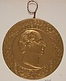 Johan Ludvig Runeberg. Chocolate medal. First made by Fazer, February 5th 1904, Society of Swedish Literature in Finland, Runebergbibliotekets bildsamling, slsa1160 479.jpg
