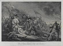 Die Schlacht von Bunkers-Hill (Quelle: Wikimedia)