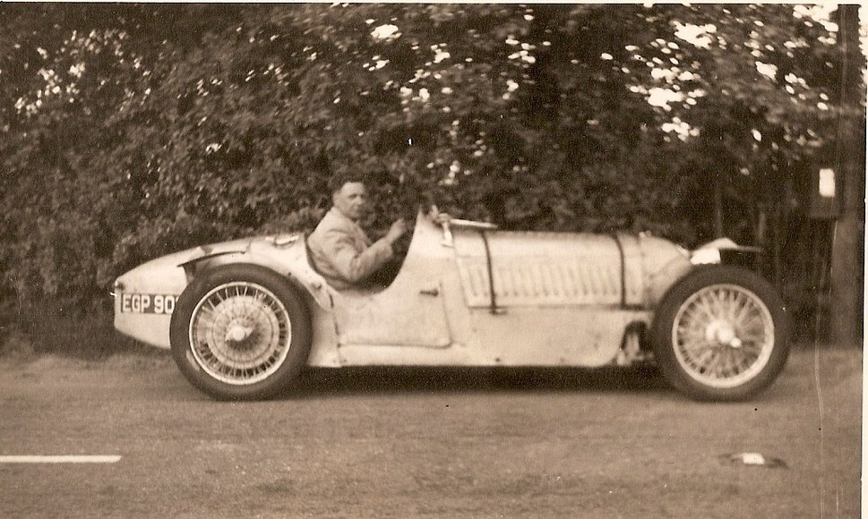 John Crosthwaite in his 1100cc Alta 1937