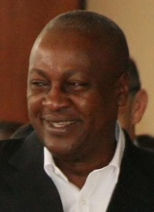 English: John Dramani Mahama, cropped from: UN...