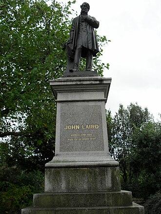 Albert Bruce-Joy - Image: John Laird statue 2009 10 04 13 42 07