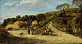 John Linnell (1792-1882) - Steep Hill, Isle of Wight - PD.248-1985 - Fitzwilliam Museum.jpg