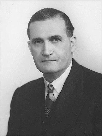 John McEwen - McEwen in 1950