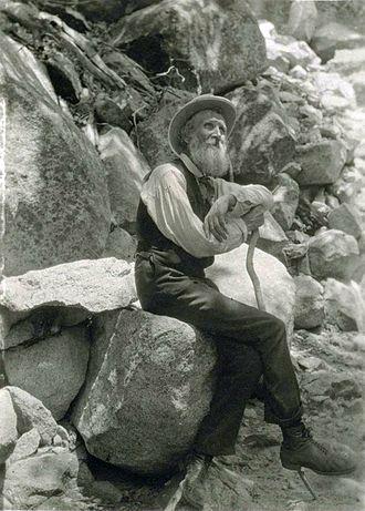John Muir - John Muir in 1907