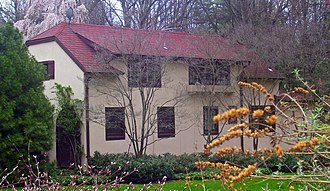 John Philip Sousa House - Front cottage of Wild Bank, 2008