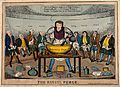 John Russell mixing a large concoction surrounded by a semi- Wellcome V0011348.jpg