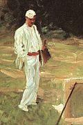John Singer Sargent - Dennis Miller Bunker Painting at Calcot cropped.jpg