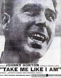 Johnny Horton - Take Me Like I Am, 1959 ad.jpg