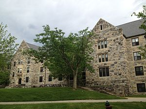Hokie Stone - Use with Collegiate Gothic style on Johnson Hall.