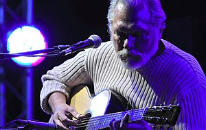Jorma Kaukonen - Kaukonen performing at the Crossroads Guitar Festival and playing the just-released Martin M-30 Jorma Kaukonen Custom Artist Edition guitar.
