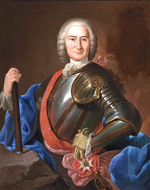 Spanish conquest of Oran (1732) - Don José Carrillo de Albornoz, Duke of Montemar, leader of the expedition.