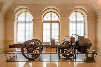 History of the automobile - Cugnot's steam wagon, the second (1771) version