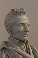 Joseph Johann von Littrow, Balneologist - Bust in the Aula of the Academy of Sciences, Vienna - hu -8597.jpg