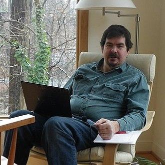 John Rust - John Rust at his house in 2011