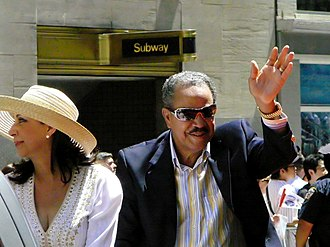 Juan Marichal - Marichal at the 2008 All-Star Game Red Carpet Parade
