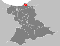 Location in Anzoátegui