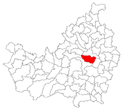 Location of Jucu