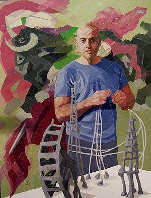 Julio Aguilera - Julio Aguilera by Venezuelan painter Vicente Saavedra