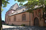 Justinuskirche Frankfurt Höchst Nordfassade