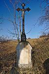 Kříž u cesty do Ponikve, Jesenec, okres Prostějov (02).jpg