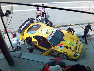 Super GT - 2005 Yellow Hat Supra (JZA80).