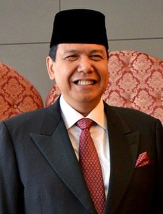 Second United Indonesia Cabinet - Image: KIBII Chairul Tanjung