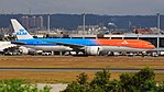 KLM Royal Dutch Airlines, Boeing 777-300ER, PH-BVA - TPE (36358187700).jpg