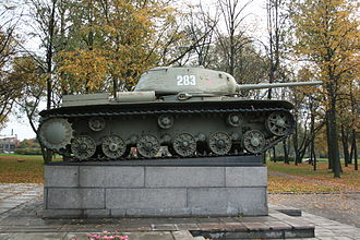 IS-1 and IS-2 - The KV-85 was a stop-gap solution until the introduction of the IS series. Note the modified KV chassis with the removal of the hull machine-gunner/radio operator's station with one operated by the driver, and the driver's station slightly centered at the front; a staple design of all IS-series tank.