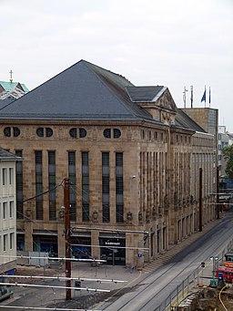 Kaiserstraße in Karlsruhe