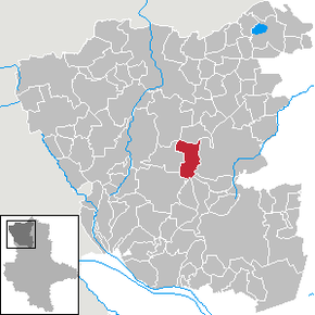 Location of Kakerbeck within Altmarkkreis Salzwedel