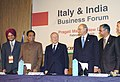 Kamal Nath at the India & Italy Business Forum, organised by FICCI, CII, Confederation of Italian Industries (Confindustria) and Italian Institute of Foreign Trade in New Delhi on February 15, 2005.jpg