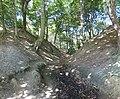 Kamminke Steilküste am Haff Erosionsrinne unterer Bereich.jpg