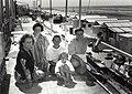 Kampeervereniging K.V.A. tussen Riche en dorp Zandvoort, aan de Boulevard Barnaart ter hoogte van Restaurant Riche. Aangekocht in 1991 van United Photos de Boer bv. - Negatiefnummer 32688 k 36. - Gepu.JPG