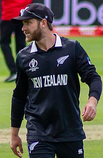 Kane Williamson New Zealand cricketer