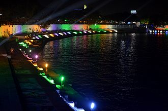 Kankaria Lake - Kankaria Lake during the Kankaria Carnival in Ahmedabad