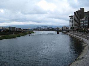Kano River - Kano River at Numazu