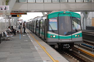 Kaohsiung Rapid Transit Metro and light rail system in Taiwan