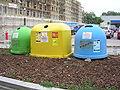 Karlovy Vary, Jateční, u Lidlu, kontejnery.jpg