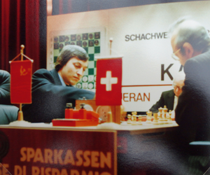 World Chess Championship 1981 - Karpov - Korchnoi, 1981 in Meran