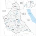 Karte Gemeinden des Bezirks Affoltern 2007.png