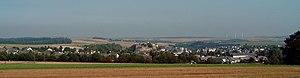 Kastellaun - View of Kastellaun from the south