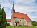 Katholische Filialkirche St. Johannes und Paulus Pildenau-Ering Ansicht von Südwesten.png