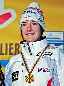 Kathrin Zettel Super Combined World Champion 2009.jpg