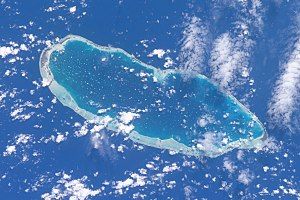 Kaukura - NASA picture of Kaukura Atoll
